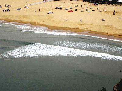 Pasquetta a Gaeta - la spiaggia