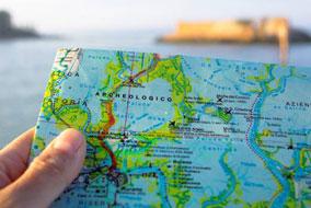 Galateo del viaggiatore - mappa