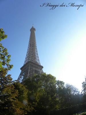 Eurotunnel a Parigi - tour Eiffel