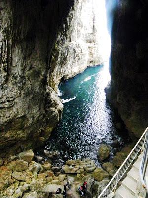 Pasquetta a Gaeta - la grotta