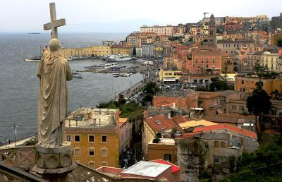 Pasquetta a Gaeta - vista dalla cattedrale