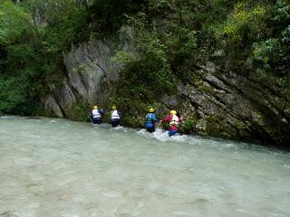rafting sul fiume Corno - fonte