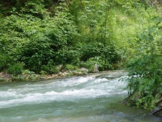rafting sul fiume Corno - prime rapide