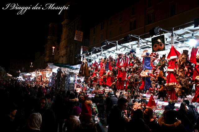 natale a piazza navona - bancarelle