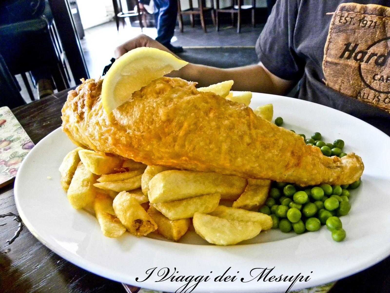 vedere il mondo da una prospettiva diversa - fish&chips