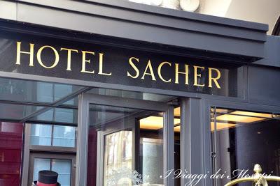 Hotel Sacher - ingresso
