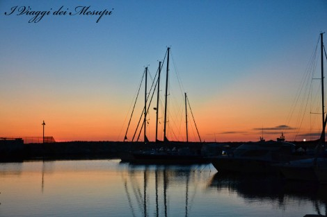 Rodi Garganico al tramonto
