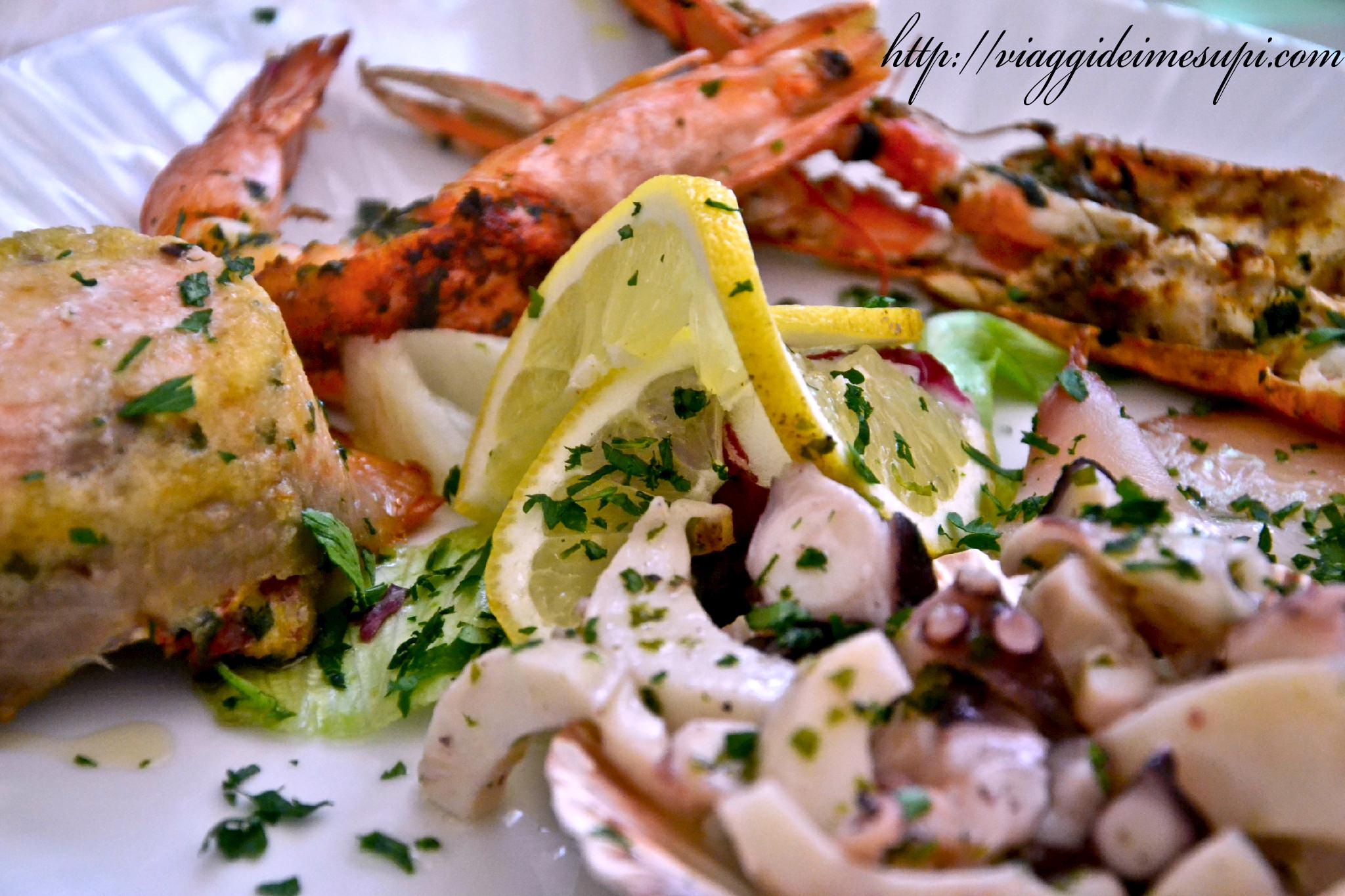 specialità del Gargano, insalata di mare