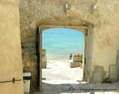 Isole Tremiti, porta a San Nicola