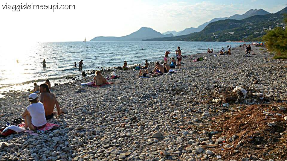 Montenegro, spiaggia di Bar