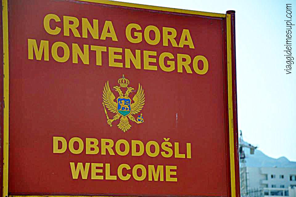 Benvenuti in Montenegro