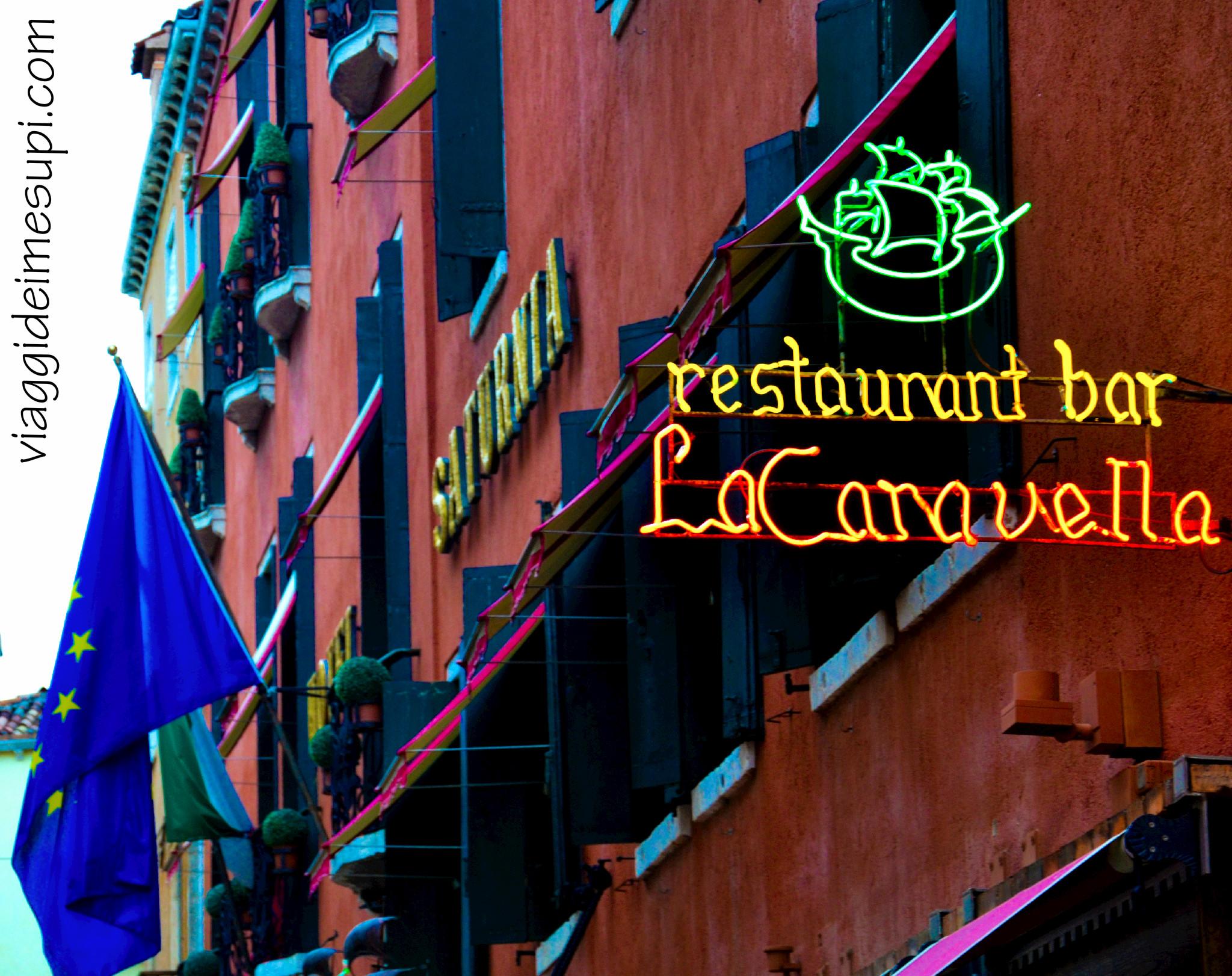 Hotel Saturnia International, ristorante La Caravella
