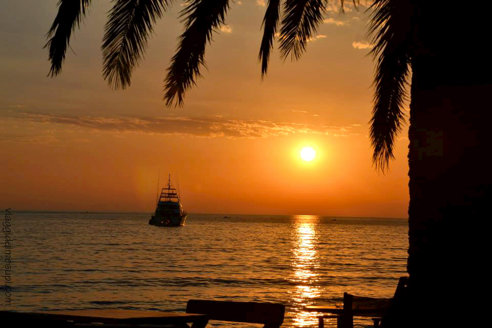 Antivari, tramonto