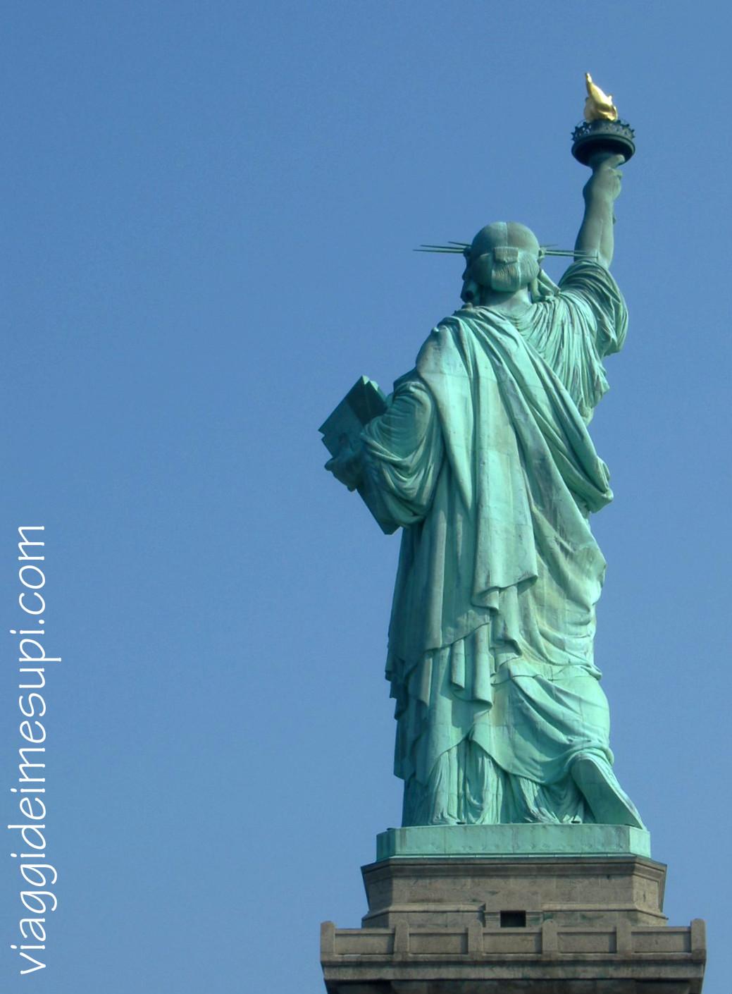 new-york-in breve  lady liberty