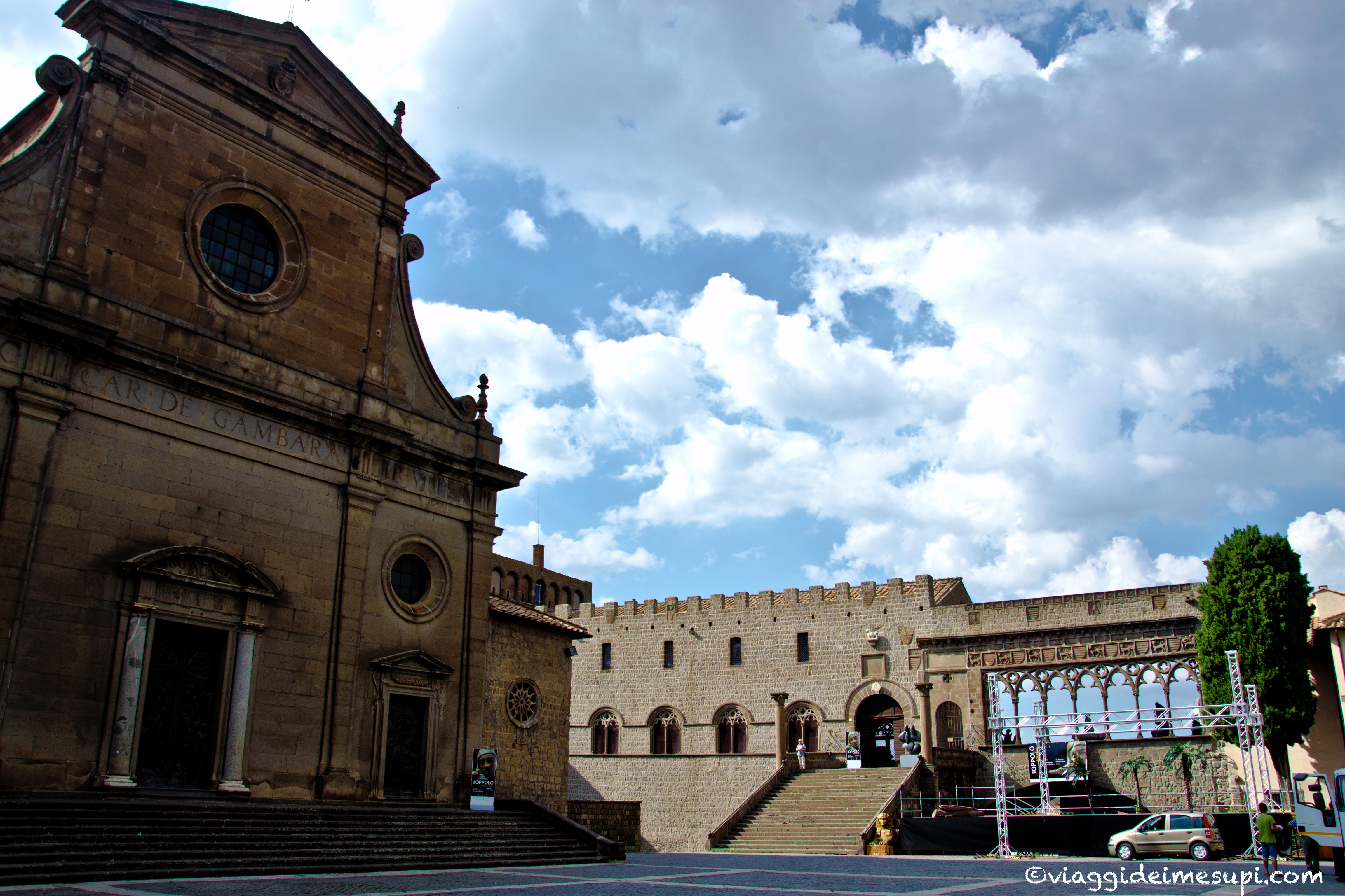 Cosa vedere a Viterbo, Palazzo dei papi