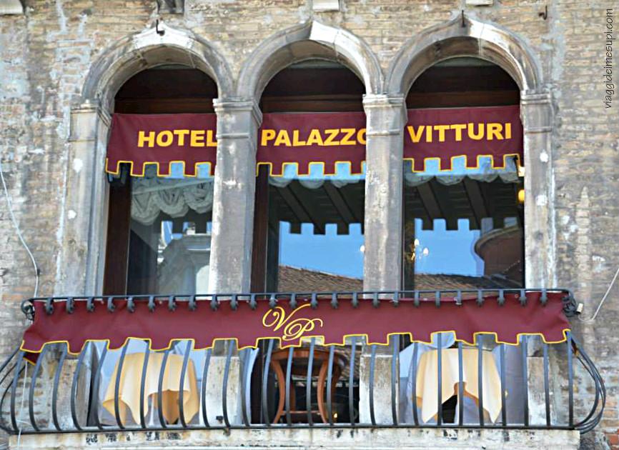 Venezia romantica, Hotel Palazzo Vitturi