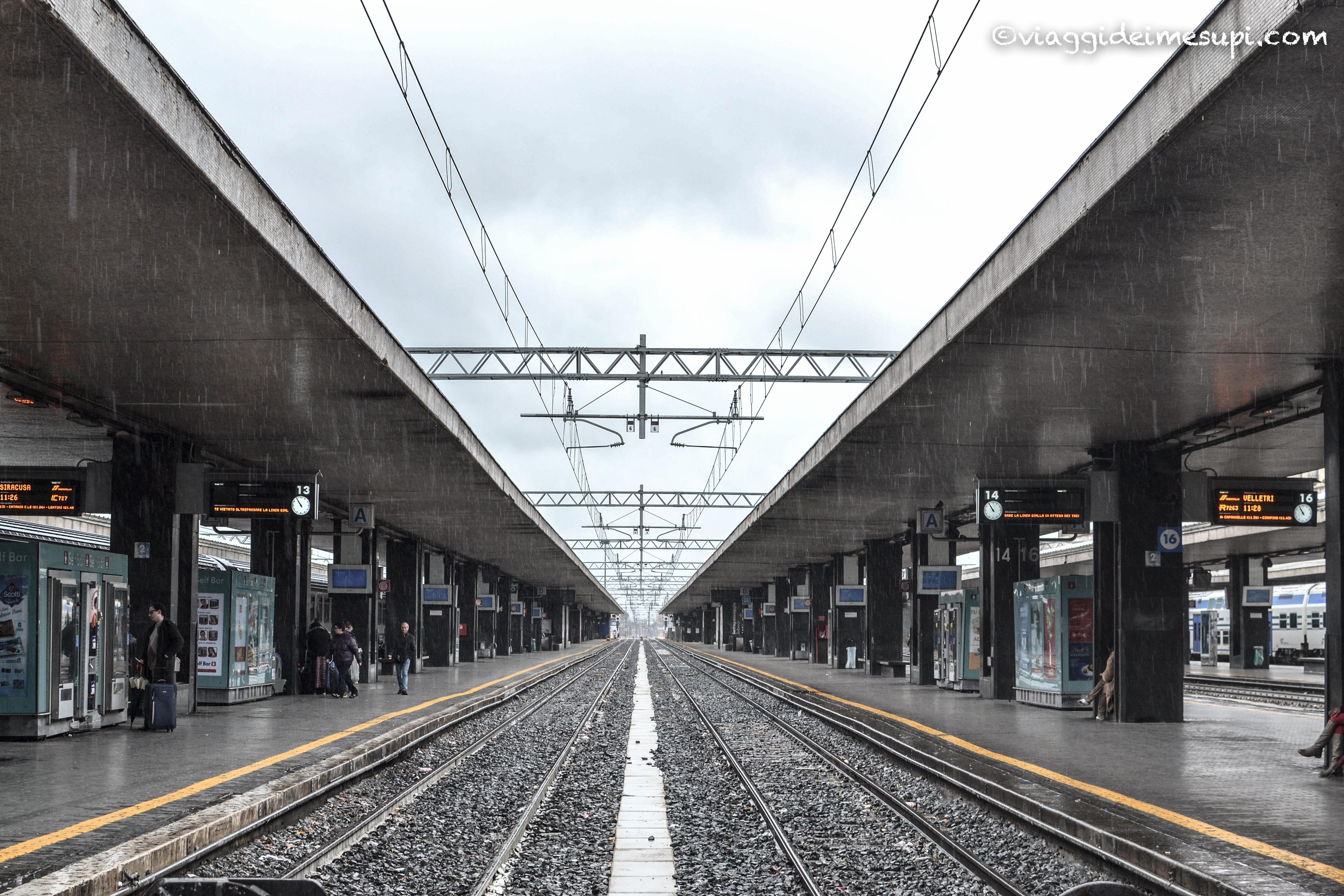 il viaggio, Stazione Termini
