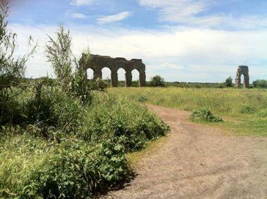 Invasioni Digitali, parco degli acquedotti Appia